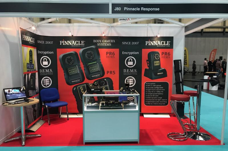 body worn camera  NEC stand