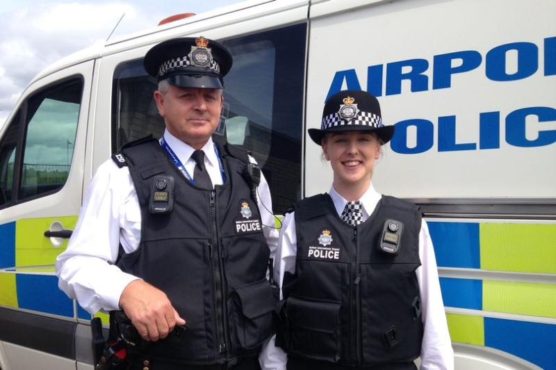 body worn camera belfast airport