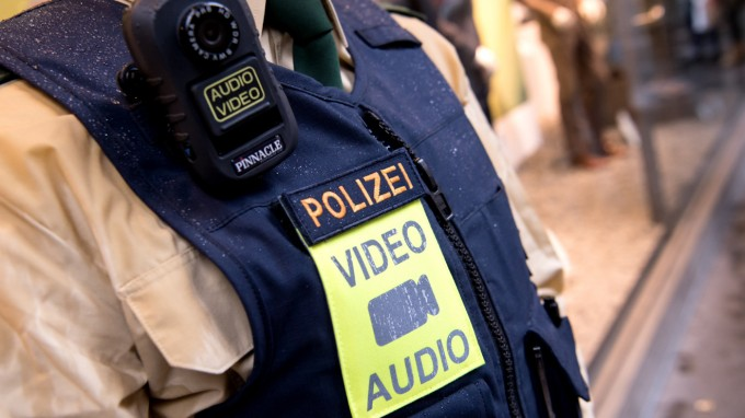 body worn camera german police