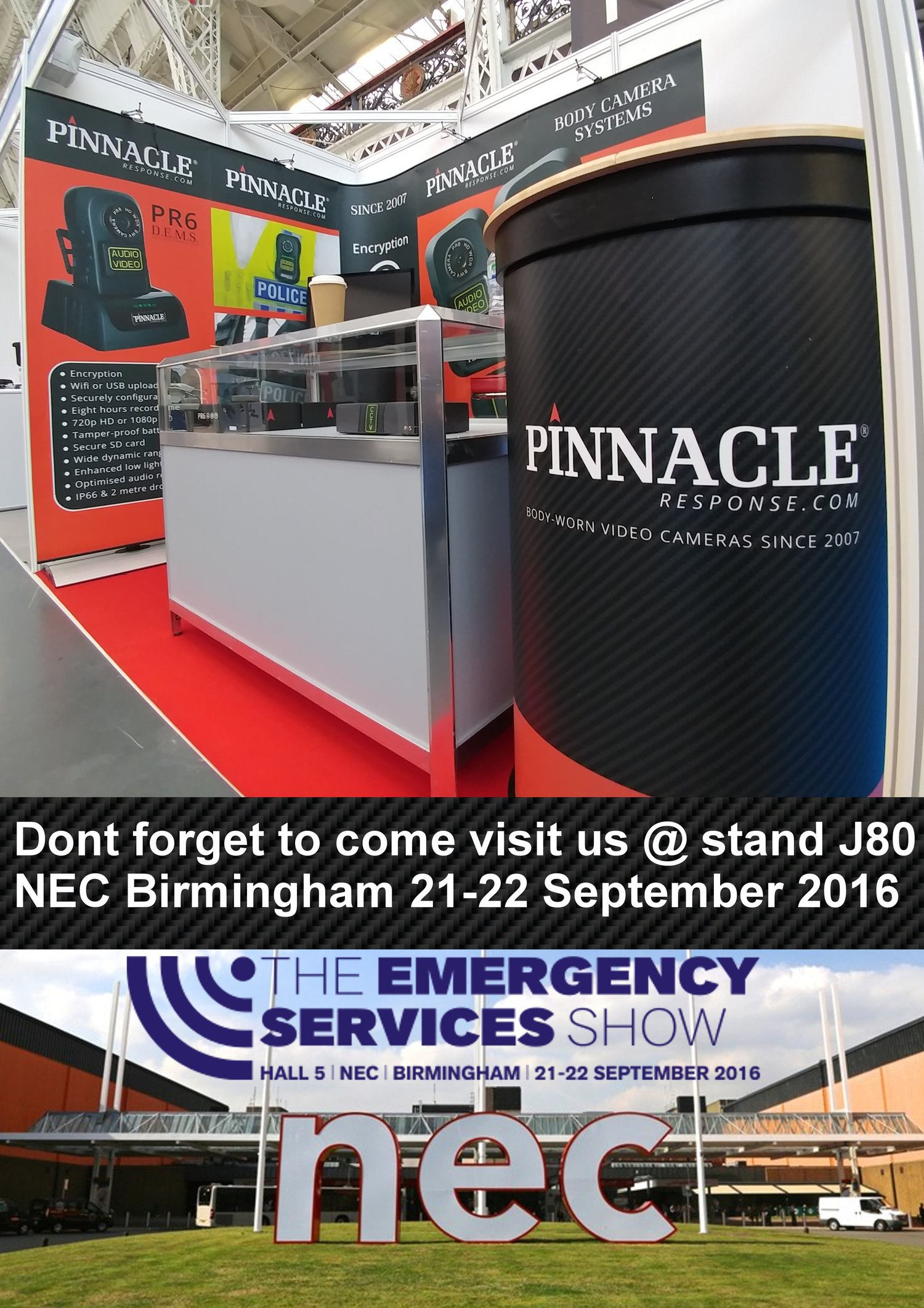 Emergency Services Show - Come see us!!