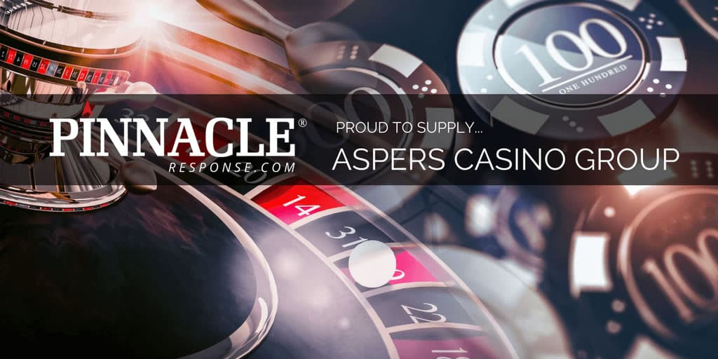 Jackpot win for Pinnacle Response landing a new contract with Aspers Casino Group
