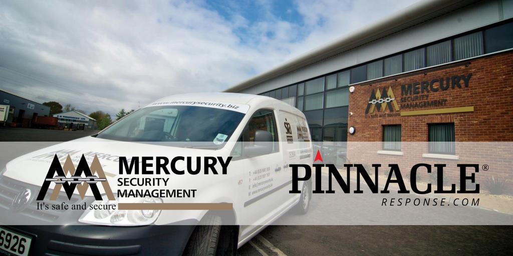 Pinnacle Response and Mercury Security Management announce their strategic partnership across Ireland