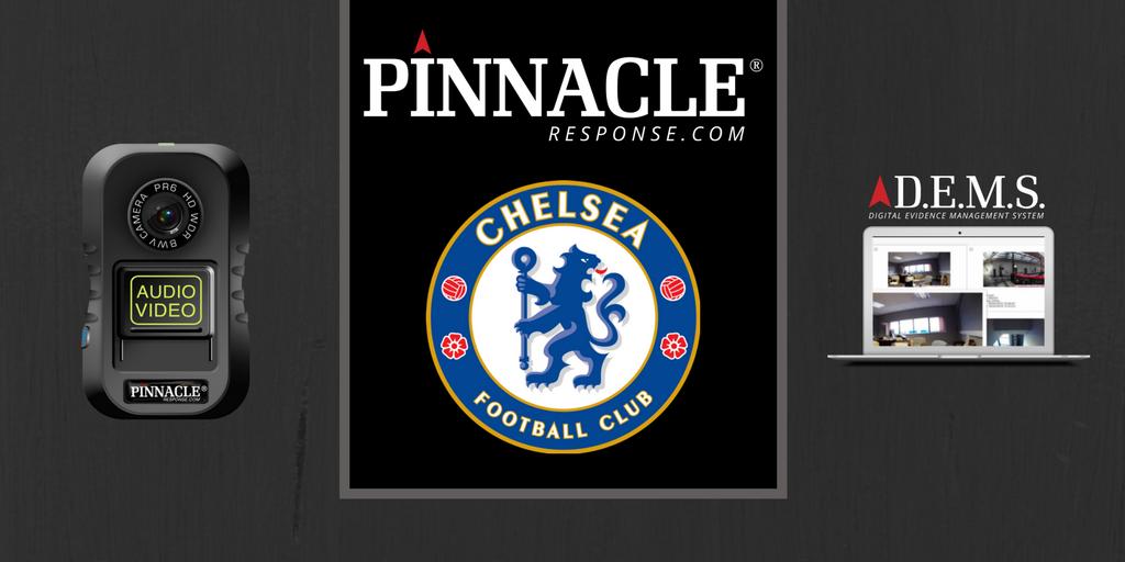 Chelsea FC choose our latest PR6!