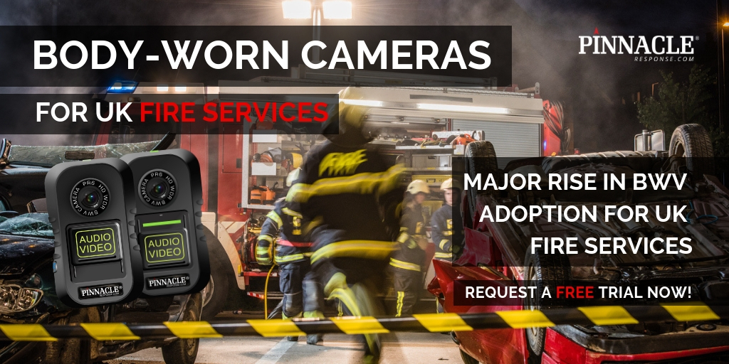 Rise in body-worn video adoption for UK Fire Services
