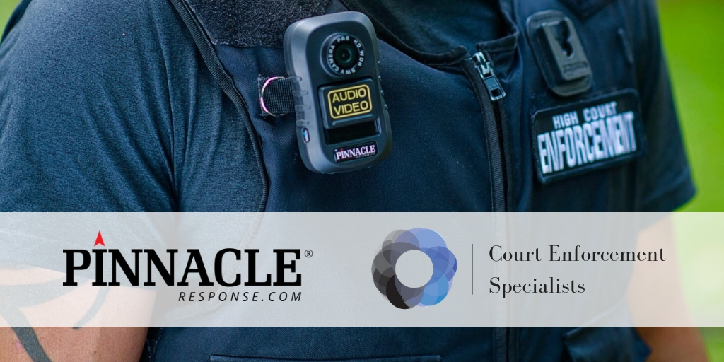 Secure body camera solution for Court Enforcement Specialists