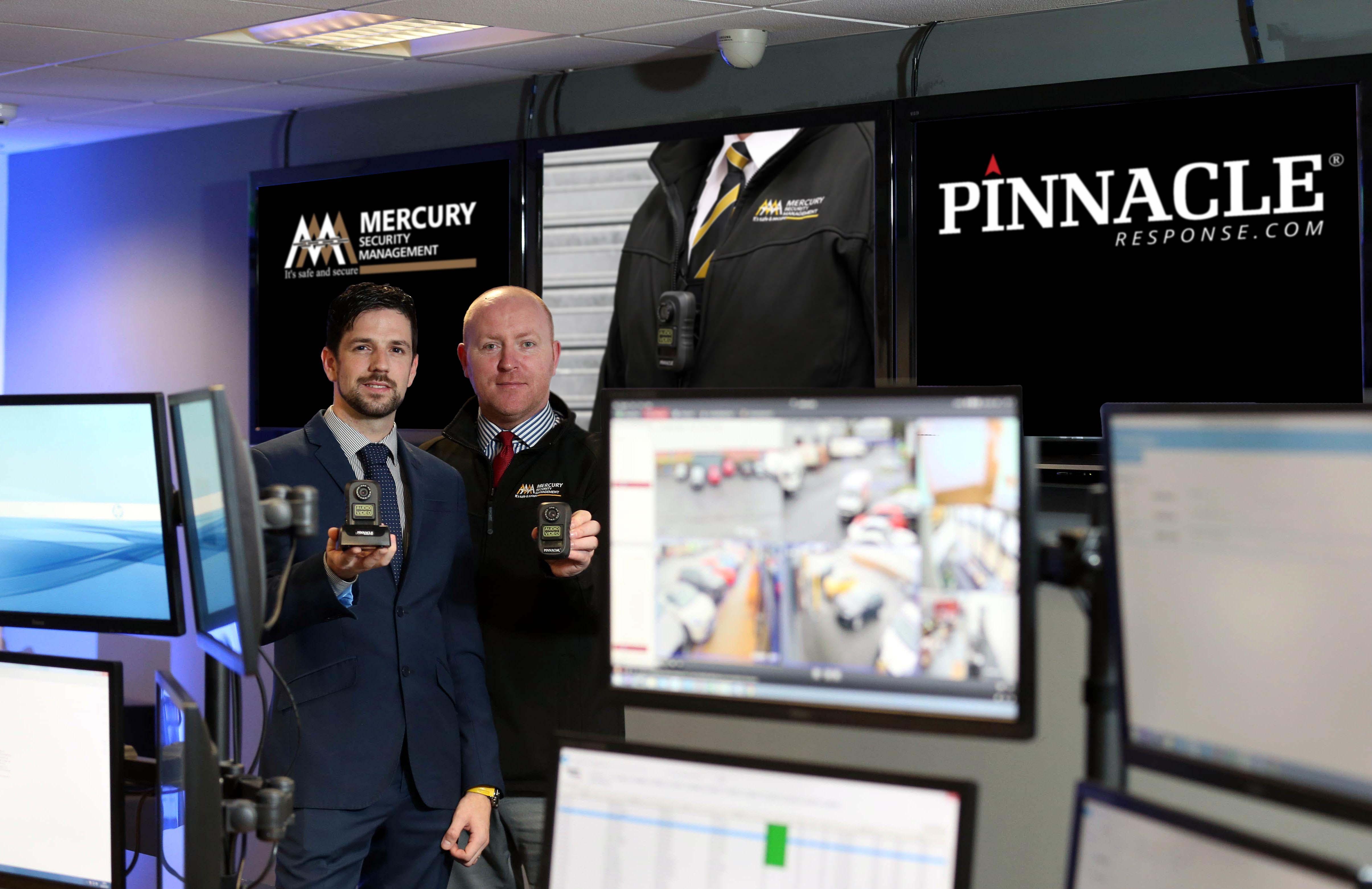 New deal sees Mercury reach the Pinnacle of camera surveillance