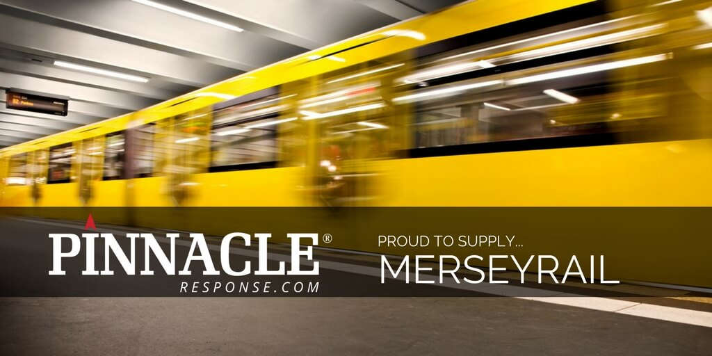 Body worn cameras and Pinnacle's new UCM rolled out across the Merseyrail Network.
