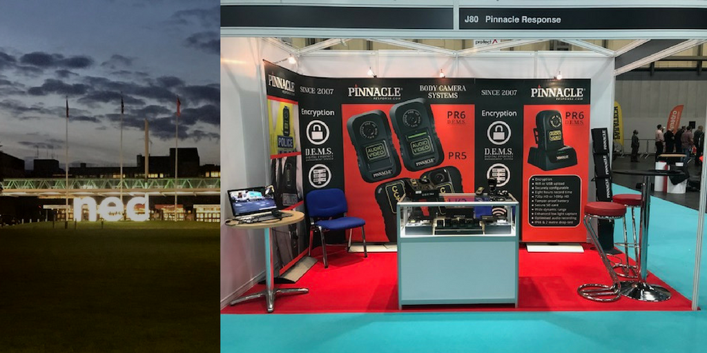 The Emergency Service Show 2017 at the NEC Birmingham