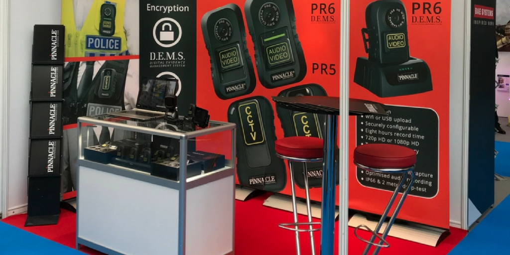 New body worn camera solution revealed at the Olympia London