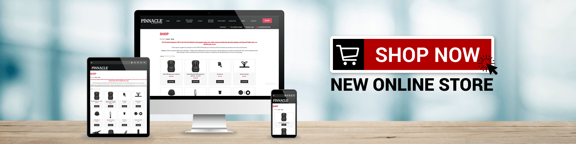 online shop now open