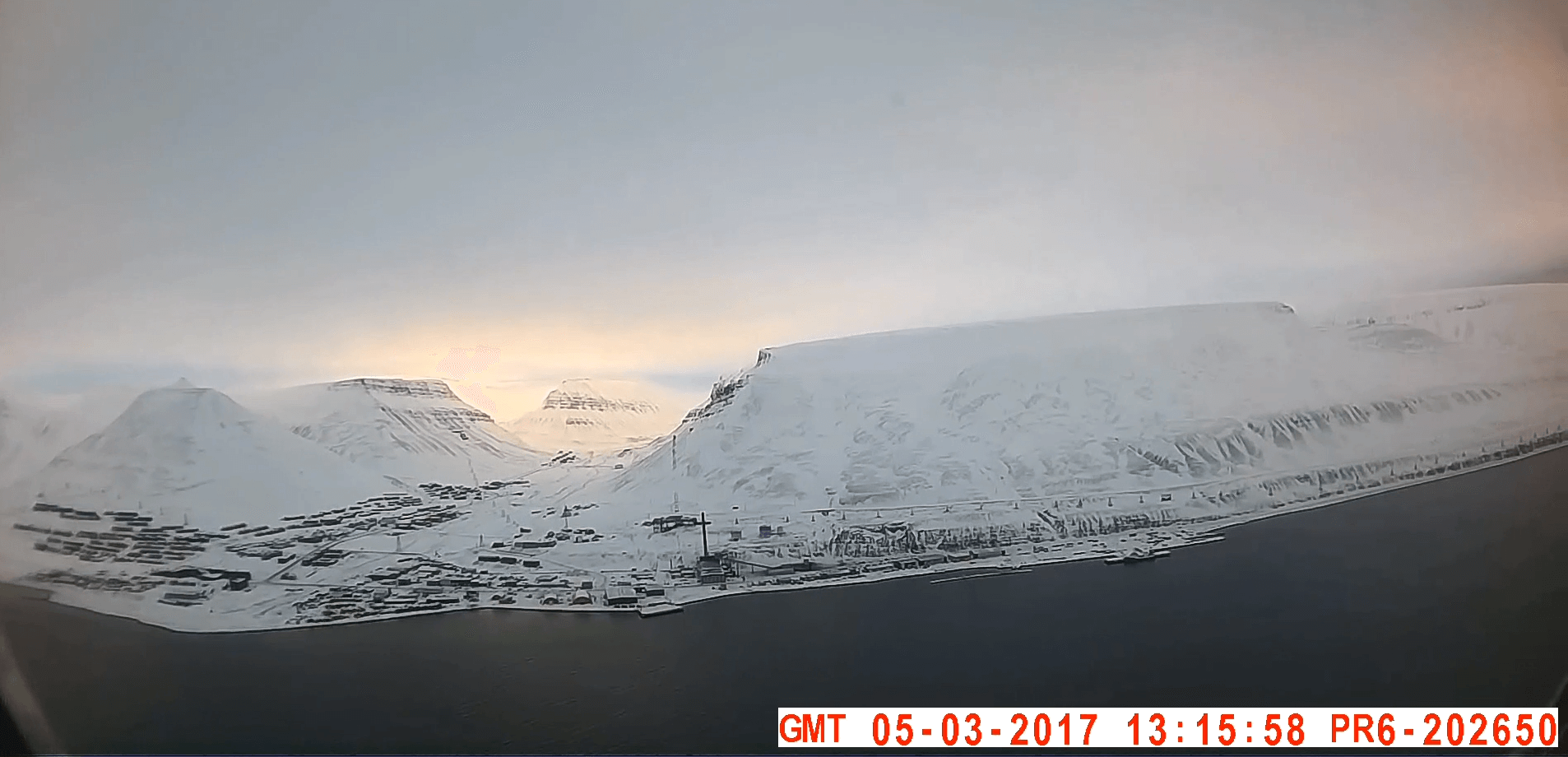 PR6 Body Worn Camera Test Footage - Svalbard Airport, Longyear