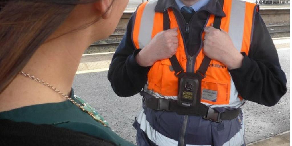 PR6 body worn cameras deployed across the NI Railways Network