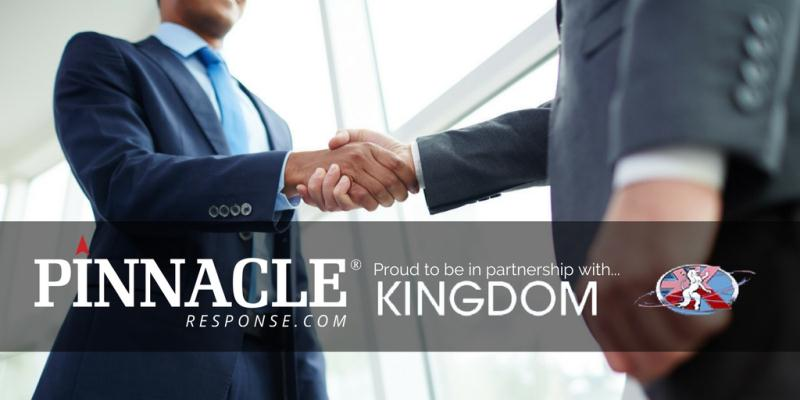Pinnacle Response and Kingdom see a trilogy of Partnership success.