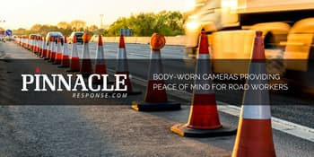 Body cameras providing peace of mind for road workers