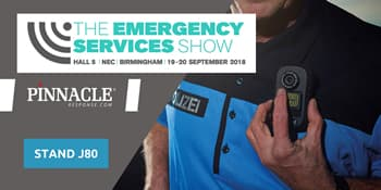 BWV manufacturer returning to this year's Emergency Services Show