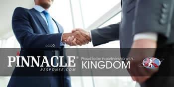 Pinnacle Response and Kingdom see a trilogy of Partnership success.