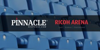 Continued body camera partnership for Coventry RICOH Arena
