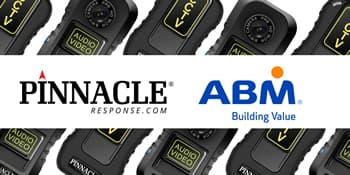 Body worn camera manufacturer proud to supply to ABM UK