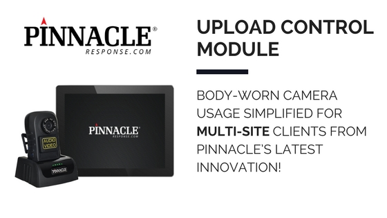 Body-worn camera usage simplified for multi-site clients from Pinnacle's latest innovation!